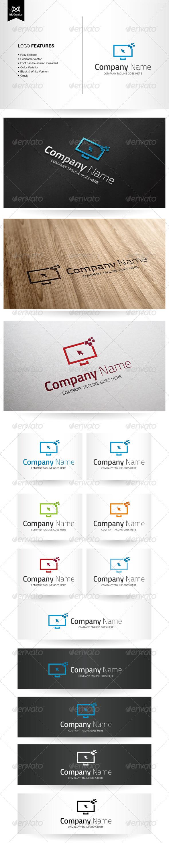 Digital And Technology Screen Logo