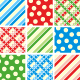 Seamless Patterns - Polka-dots, Plaids and Stripes - GraphicRiver Item for Sale