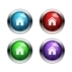 Shiny Home Buttons - GraphicRiver Item for Sale