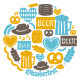 Oktoberfest Icons Collection - GraphicRiver Item for Sale