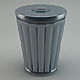 Trash Can - 3DOcean Item for Sale
