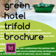 Green Eco Hotel Trifold Brochure - GraphicRiver Item for Sale