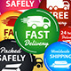 Large Set Of Shipping And Delivery Badges - GraphicRiver Item for Sale