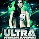 Ultra Sensation Flyer // 2 Color Versions - GraphicRiver Item for Sale