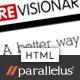 ReVisionary - HTML Portfolio and Magazine Site - ThemeForest Item for Sale