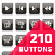 Huge Collection of Glossy Buttons - GraphicRiver Item for Sale