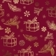 Seamless Christmas Background. Design Element - GraphicRiver Item for Sale