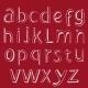 Handmaid Alphabet. Vector for Design - GraphicRiver Item for Sale