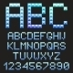 Ice Alphabet Letters. - GraphicRiver Item for Sale