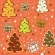 Seamless Christmas Background - GraphicRiver Item for Sale