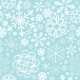 Snowflake Christmas and New Year Seamless Pattern - GraphicRiver Item for Sale