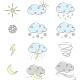 Hand Drawn Weather Icons Collection - GraphicRiver Item for Sale