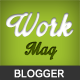 Workmag - Responsive Multipurpose Blogger Template