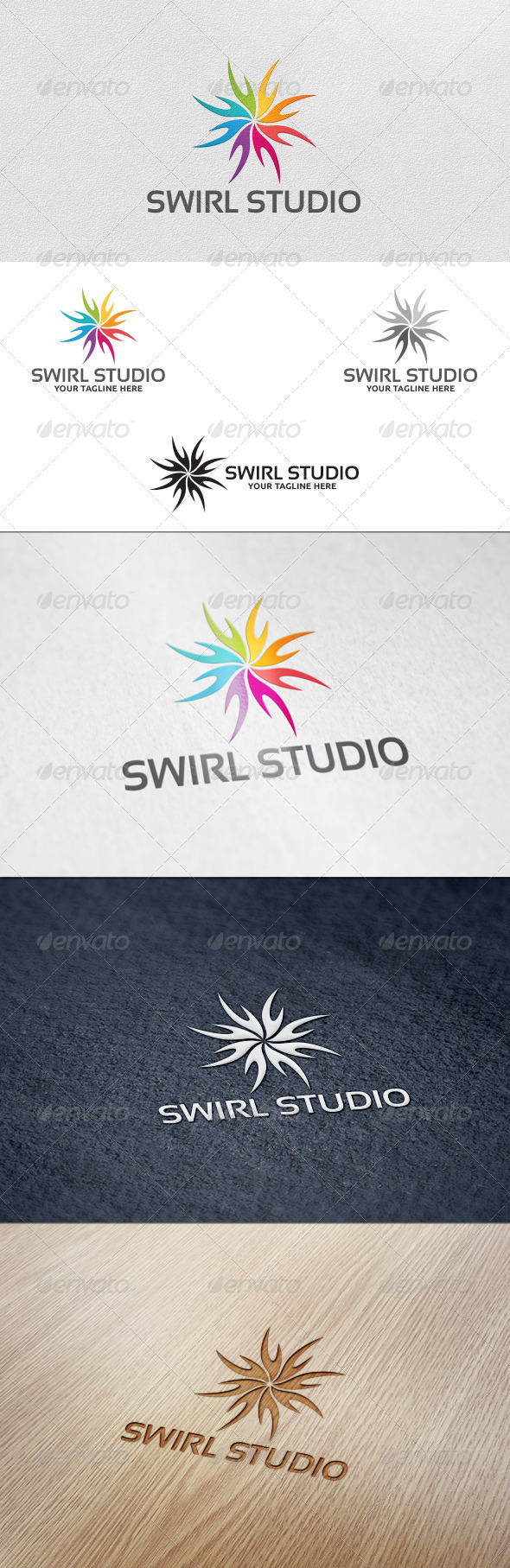 Swirl Studio - Logo Template