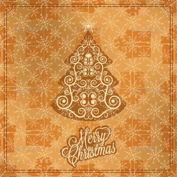 Holiday Merry Christmas and New Year