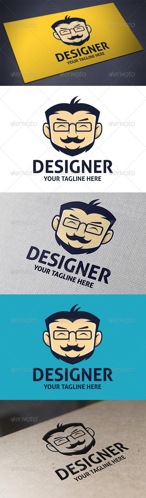 Geek Designer Logo