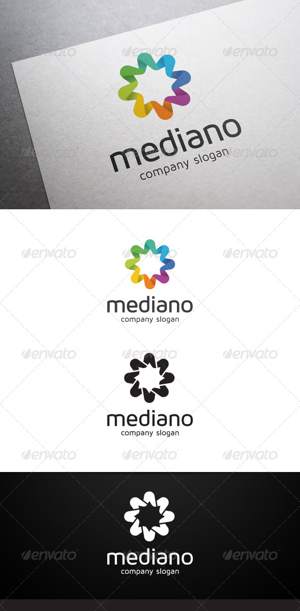 Mediano Logo