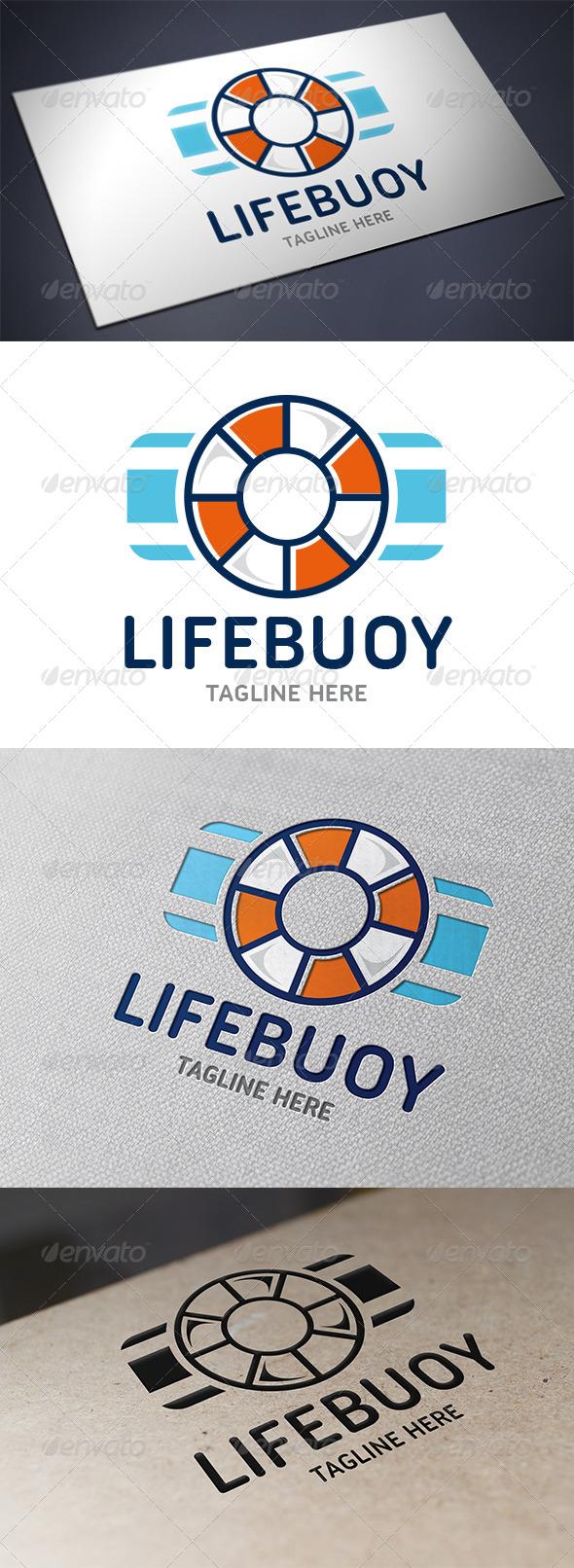Lifebuoy Logo Template