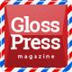 GlossPress Magazine / Blog - ThemeForest Item for Sale