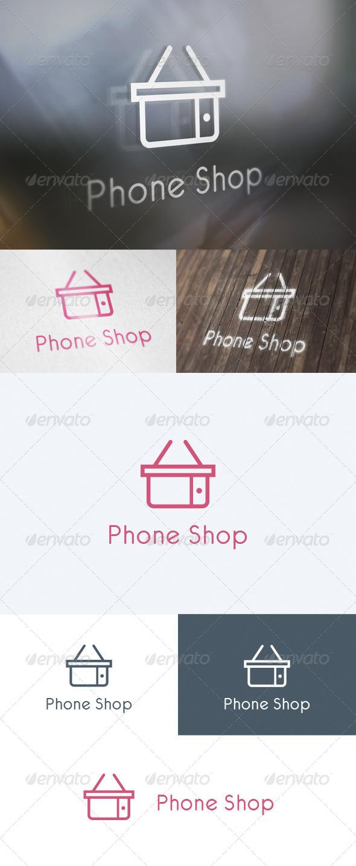 Phone Shop Logo