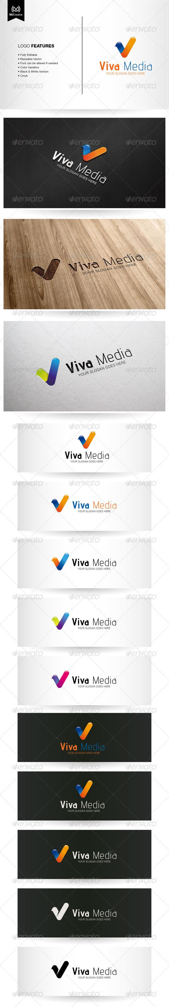 Viva Letter V Logo