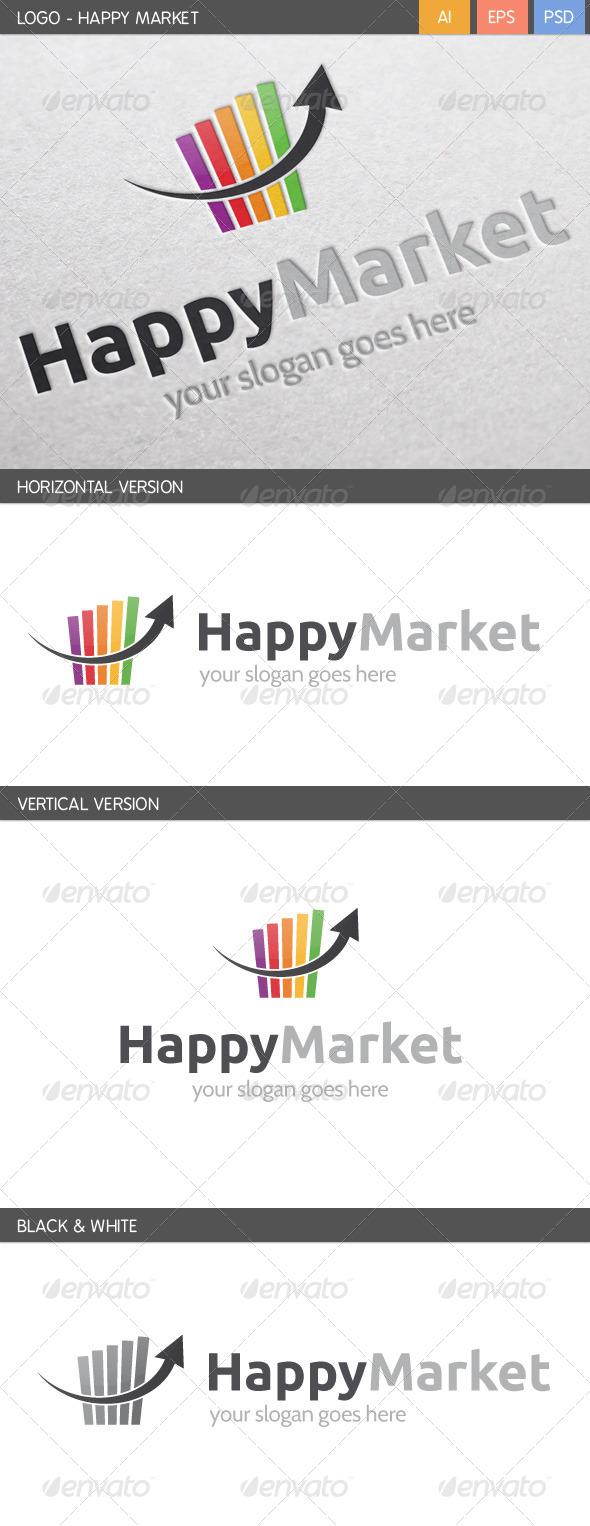 Happy Marketing Logo