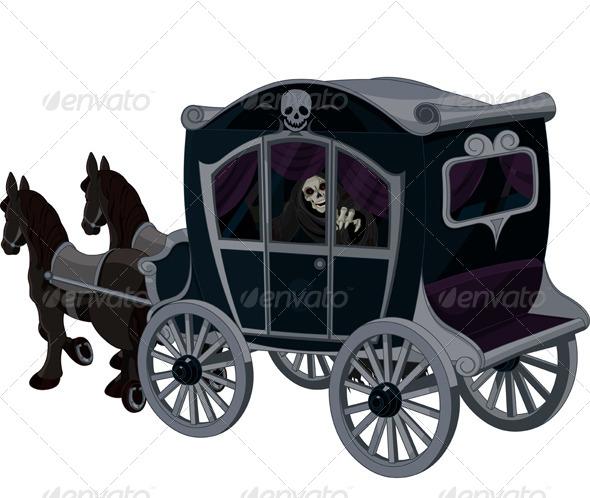 Halloween Carriage