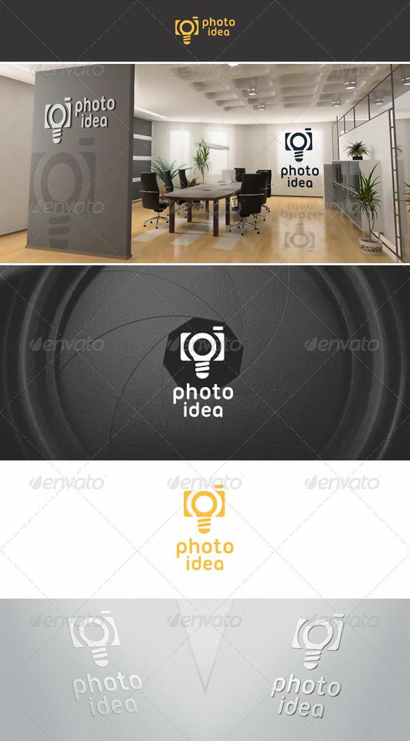 Photo Idea Logo Template