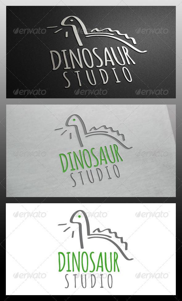 Dinosaur Logo Template