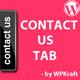 Contact us Tab Menu - WordPress Plugin - CodeCanyon Item for Sale