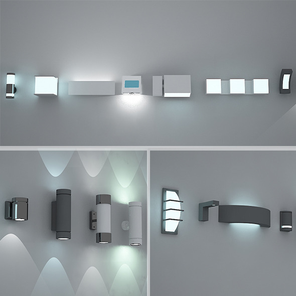 Vray 3D Lamp Models from 3DOcean