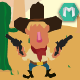 Texas Shooter - HTML5 Game (Construct 2 & Construct 3) - CodeCanyon Item for Sale