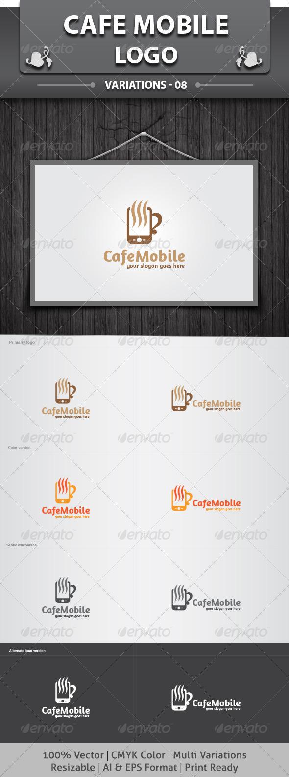 Cafe Mobile Logo