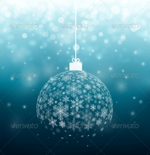 Ball from Snowflakes
