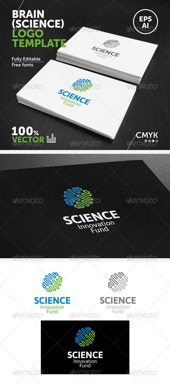 Brain (Science) Logo Template