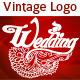 Vintage Logo for Wedding - GraphicRiver Item for Sale