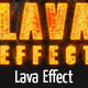 Lava Style Burning Effect - GraphicRiver Item for Sale