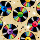 Seamless Vinyl Records Pattern - GraphicRiver Item for Sale