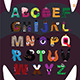 Alphabet with Letters Monsters - GraphicRiver Item for Sale