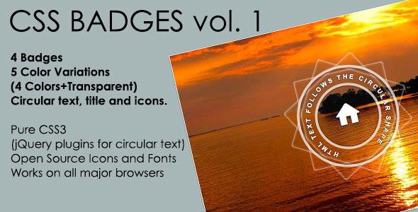 Flat Badges Vol. 1 Download