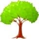 Polygonal Tree - GraphicRiver Item for Sale