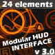 Modular HUD Interface v 3.0 - VideoHive Item for Sale