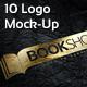 10 Photorealistic Logo Mock-Ups - GraphicRiver Item for Sale