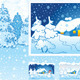 Winter Holiday Nature Background - GraphicRiver Item for Sale