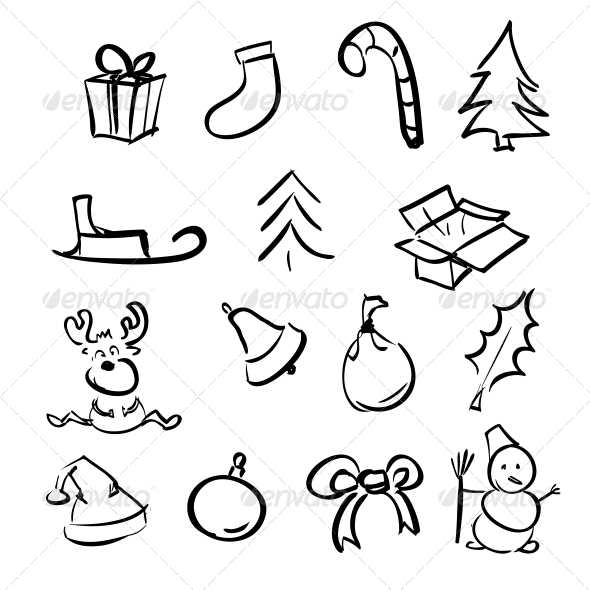 Christmas Objects Collection