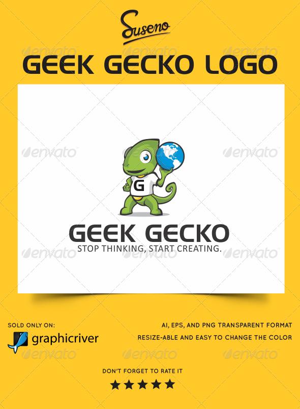 Geek Gecko Logo