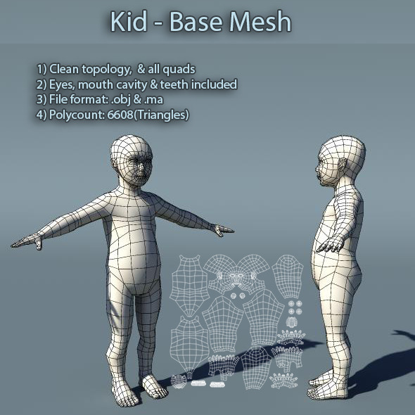 Low Poly & 3D Meshes from 3DOcean
