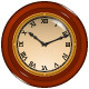 Vintage Wall Clock - GraphicRiver Item for Sale