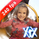 Young Girl Sliding On A Slide - VideoHive Item for Sale