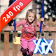 Young Girl On Swing - VideoHive Item for Sale